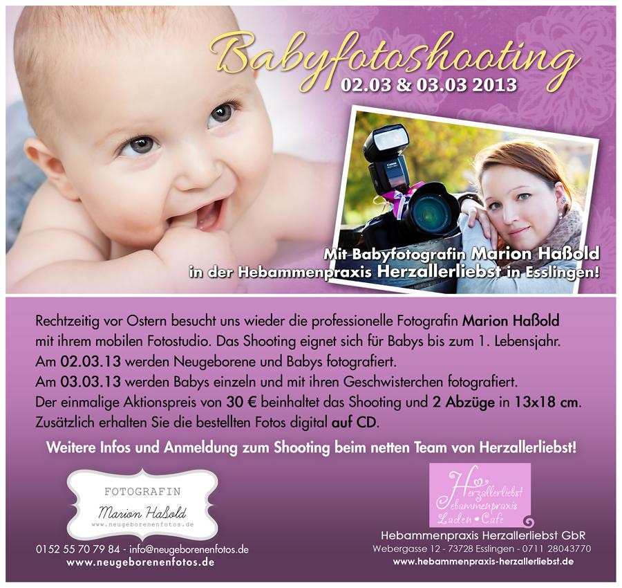 Babyfotoshooting