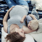 Fruehlings-Babybauchshooting im Raum Esslingen