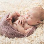 Diana mit 9 Tagen, Neugeborenenbilder in Esslingen