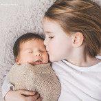 8 Tage alte Malena, Neugeborenenfotos 2015 im Raum Esslingen