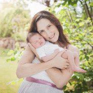 Süsse Keira aus Stuttgart | Neugeborenenfotografie