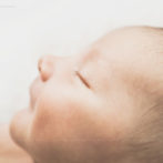 Babybauchfotos im April und Neugeborenenfotos mit Toni, 6 Tage alt