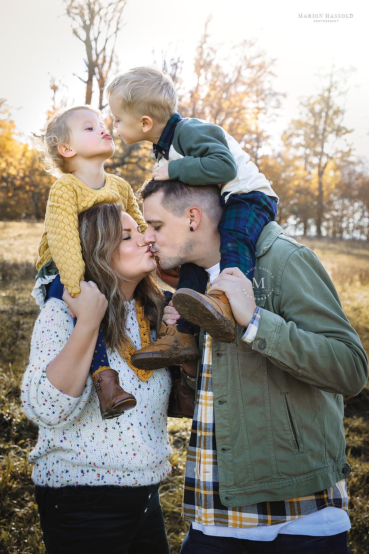Familienfotoshooting im Herbst